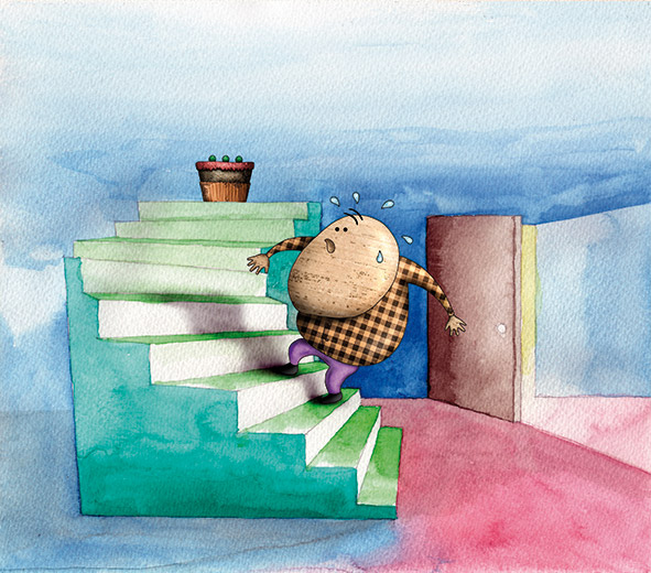 ilustración digital, ilustración acuarela, ilustrador editorial, homeopatía