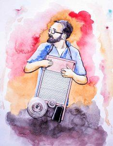 Juan Millán, Blues Whale. Washboard, Tabla de lavar