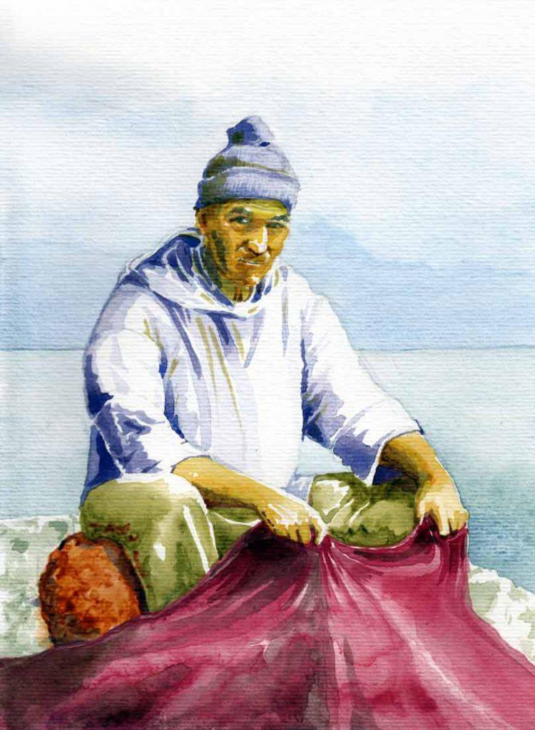 acuarela, ilustrador de libros y cuentos. Pío Lázaro Cámara