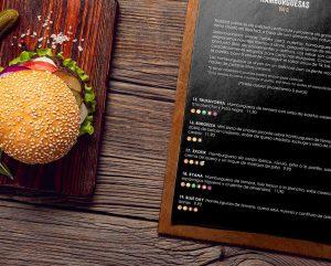 CARTA TIK TAK HOUSEHAMBUERGUESAS restaurante menu